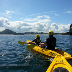 Kayaking on the Forth