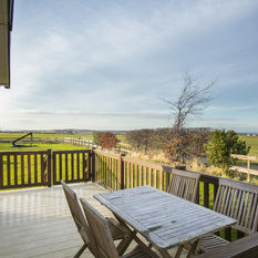 Sit back and enjoy the fresh air and good view on our Holiday Home Decks
