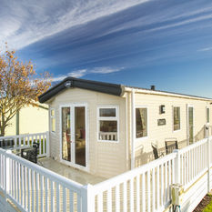 Gold Holiday Homes with large deck.