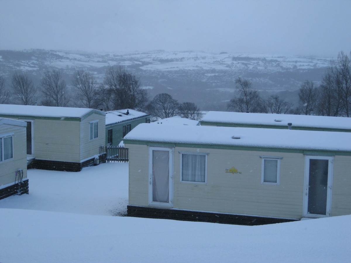 Winter Weather Caravan Precautions